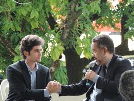 Felipe Carvalho (Diretor da Trancid) e ReginaldoCouto (Presidente da Adefom)